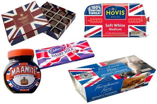 Olympic food brand design